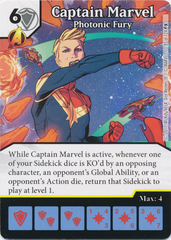 Captain Marvel - Photonic Fury (Die and Card Combo)