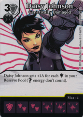 Daisy Johnson - Genetically Damaged (Die and Card Combo)