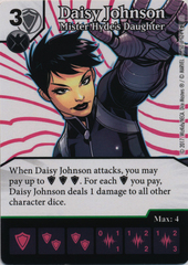 Daisy Johnson - Mister Hyde's Daughter (Die and Card Combo)
