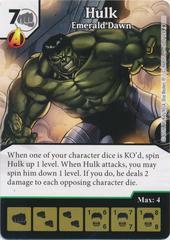 Hulk - Emerald Dawn (Die and Card Combo)