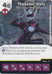Madame Web - The Great Web Unravels (Die and Card Combo)