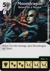 Moondragon - Raised By A Mentor (Die and Card Combo)