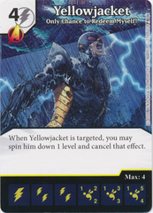 Yellowjacket - Only Chance to Redeem Myself! (Die and Card Combo)