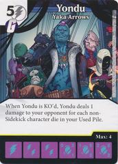 Yondu - Yaka Arrows (Card and Die Combo) Foil
