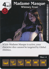 Madame Masque - Whitney Frost (Card and Die Combo) Foil