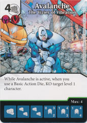 Avalanche - The Vizier of Vibration (Die and Card Combo)