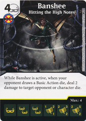 Banshee - Hitting the High Notes (Die and Card Combo)