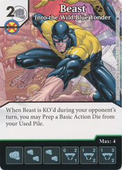 Beast - Into the Wild Blue Yonder (Die and Card Combo)