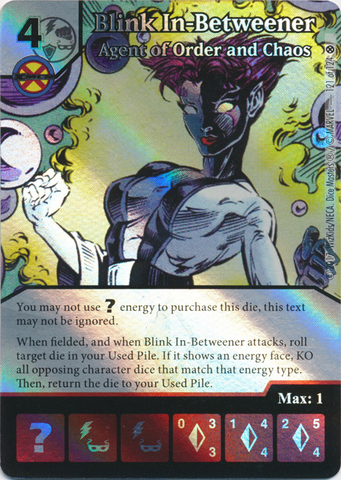 Blink In-Betweener - Agent of Order and Chaos (Die and Card Combo)