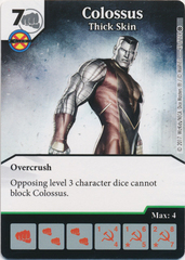 Colossus - Thick Skin (Card Only)