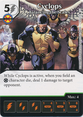 Cyclops - Balancing the Scales (Die and Card Combo)