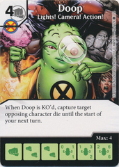 Doop - Lights! Camera! Action! (Die and Card Combo)
