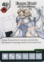 Emma Frost - All That Glitters (Die and Card Combo)