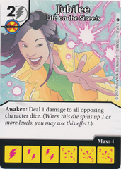 Jubilee - Life on the Streets (Die and Card Combo)
