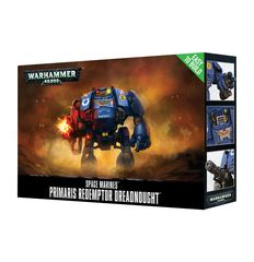 Easy to Build Space Marine Primaris Redemptor Dreadnought