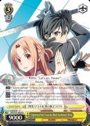SAO/S51-E007 R <<Lightning Flash>> Asuna & <<Black Swordsman>> Kirito