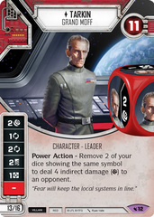 Tarkin - Grand Moff (Sold with Matching Die)