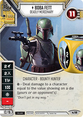 Boba Fett - Deadly Mercenary (Sold with Matching Pair of Dice)