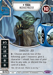 Yoda - Wizened Master (Sold with Matching Die)