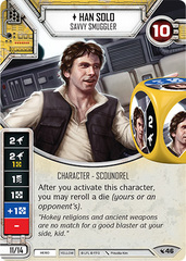 Han Solo - Savvy Smuggler (Sold with Matching Die)