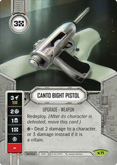 Canto Bight Pistol (Sold with Matching Die)