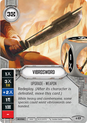 Vibrosword (sold with matching die)