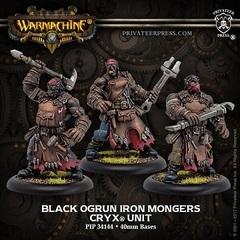 Black Ogrun Iron Mongers - Unit (3)