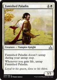 Famished Paladin - Foil