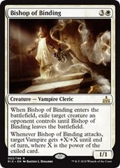 Bishop of Binding - Foil on Channel Fireball