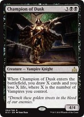 Champion of Dusk on Channel Fireball