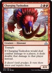 Charging Tuskodon - Foil