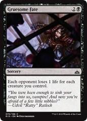 Gruesome Fate - Foil