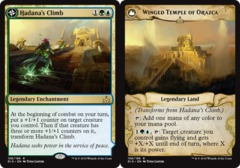 Hadana's Climb // Winged Temple of Orazca - Foil