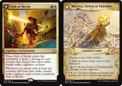 Path of Mettle // Metzali, Tower of Triumph - Foil