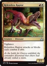 Relentless Raptor - Foil
