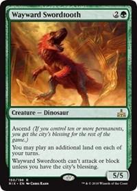 Wayward Swordtooth