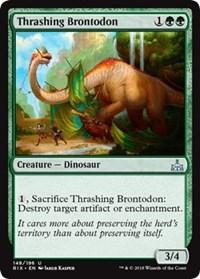 Thrashing Brontodon - Foil
