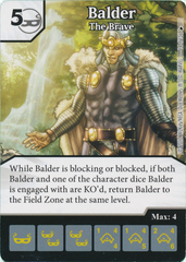 Balder - The Brave (Card and Die Combo) Foil