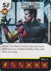 Iron Man - Bucket of Bolts (Card Only)