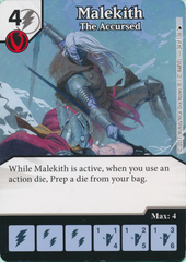 Malekith - The Accursed (Card and Die Combo) Foil