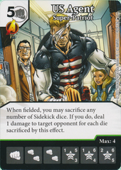US Agent - Super-Patriot (Card and Die Combo) Foil