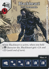 Blackheart - Evil Incarnate (Die and Card Combo)