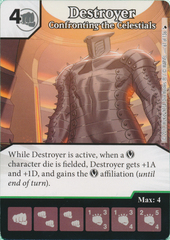 Destroyer - Confronting the Celestials (Die and Card Combo)
