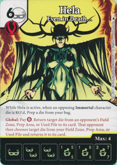 Hela - Even in Death... (Die and Card Combo)