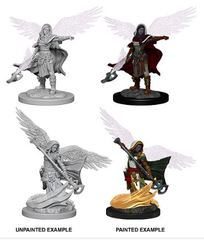 Nolzur's Marvelous Miniatures - Aasimar Female Wizard