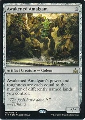 Awakened Amalgam - Foil - Prerelease Promo on Channel Fireball