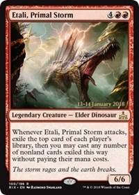 Etali, Primal Storm (RIX Prerelease Foil) 13-14 January 2018