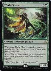World Shaper - Foil - Prerelease Promo