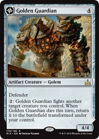 Golden Guardian // Gold-Forge Garrison - Foil - Prerelease Promo