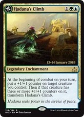 Hadana's Climb // Winged Temple of Orazca - Foil - Prerelease Promo